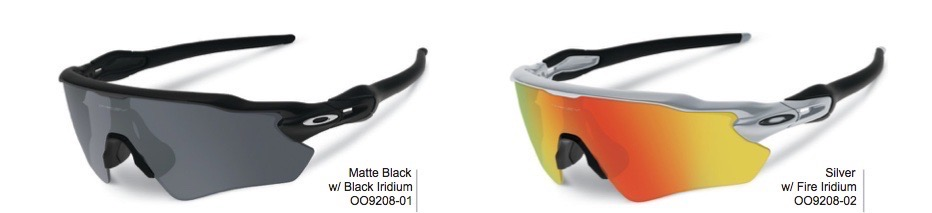 Oakley Radar EV Black + Silver